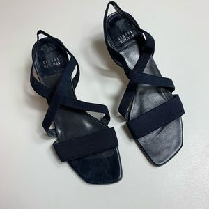 Stuart Weitzman Strap Heels Blue 8.5
